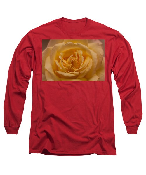 Yellow Rose Long Sleeve T-Shirt