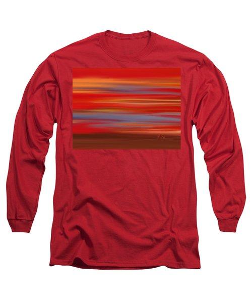Evening In Ottawa Valley Long Sleeve T-Shirt by Rabi Khan