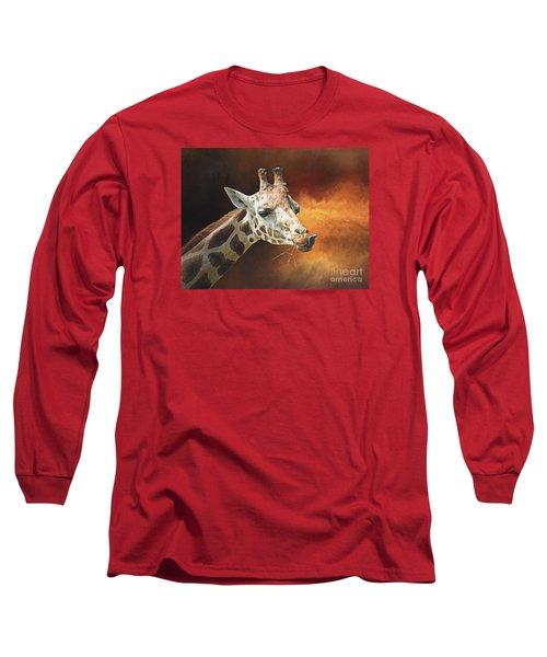 Giraffe Long Sleeve T-Shirt by Suzanne Handel