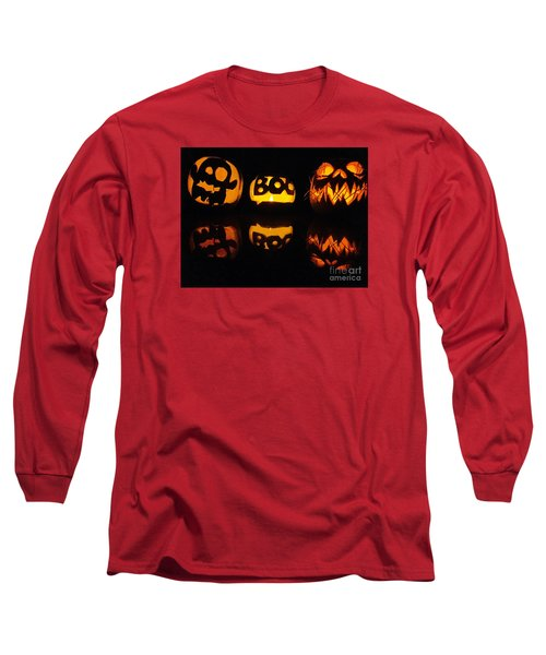 Long Sleeve T-Shirt featuring the photograph  Texas Halloween - No. 2015 by Joe Finney