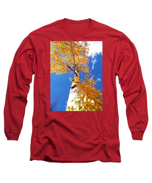 The Aspen Crown Dixie National Forest Utah Long Sleeve T-Shirt