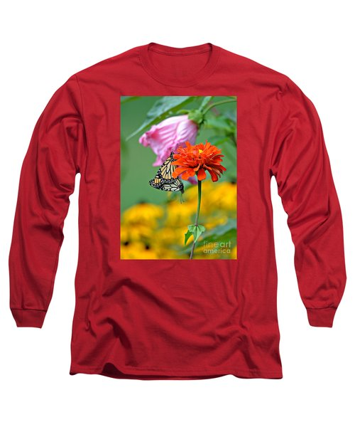 Long Sleeve T-Shirt featuring the photograph A New Beginning by Lila Fisher-Wenzel