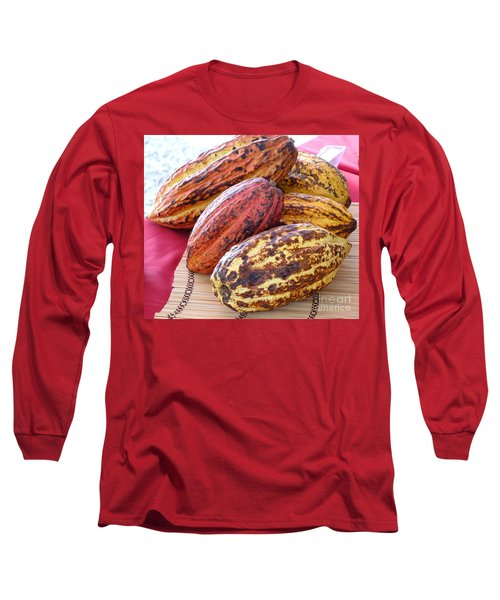 A Pile Of Cacao Pods Long Sleeve T-Shirt
