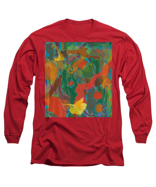 Long Sleeve T-Shirt featuring the painting Amazon by David Klaboe