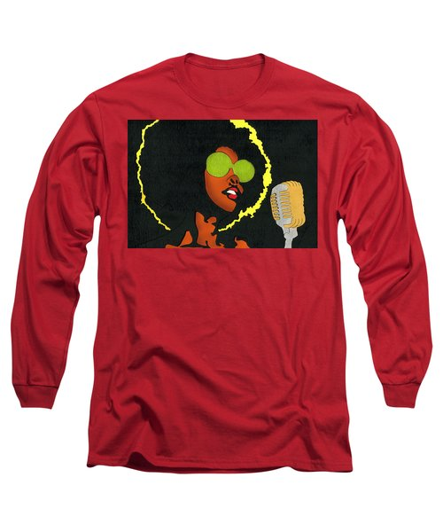 Angela Sings Long Sleeve T-Shirt