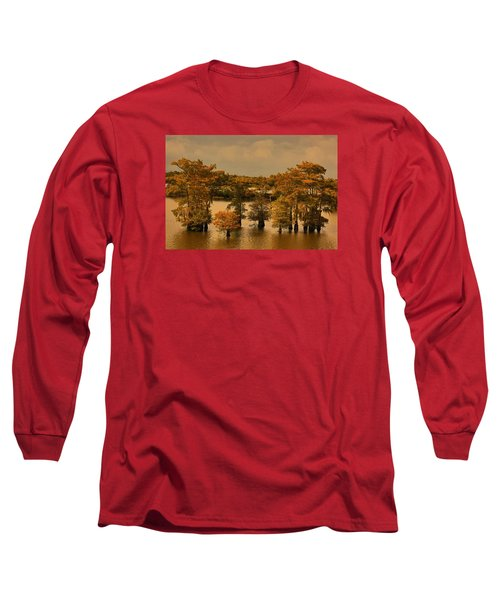 Atchafalaya Basin Long Sleeve T-Shirt by Ronald Olivier