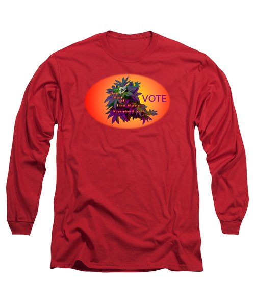Bee Part Of The Buzz Long Sleeve T-Shirt by Mike Breau