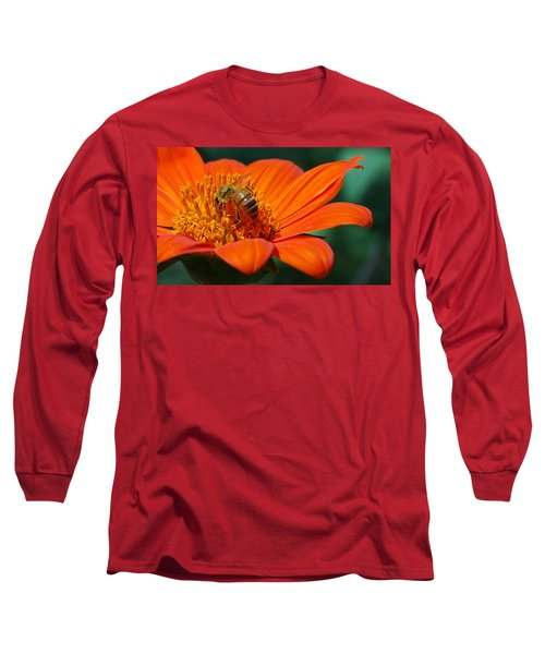 Bee-utiful Long Sleeve T-Shirt by Debbie Karnes