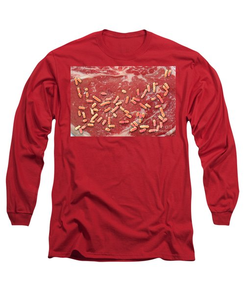 Beef Contaminated With E. Coli Long Sleeve T-Shirt