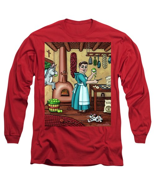 Burritos In The Kitchen Long Sleeve T-Shirt