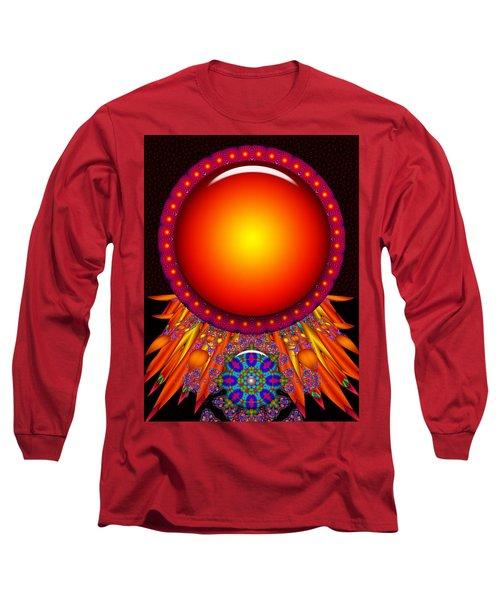 Long Sleeve T-Shirt featuring the digital art Children Of The Sun by Robert Orinski