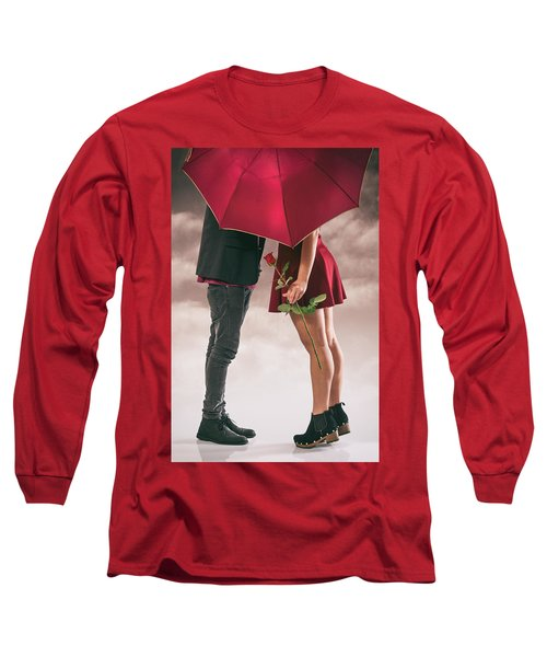 Long Sleeve T-Shirt featuring the photograph Couple Of Sweethearts by Carlos Caetano