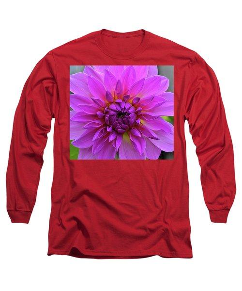 Dahlia Long Sleeve T-Shirt by Ronda Ryan