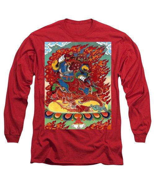 Dudjom's Dorje Drollo Long Sleeve T-Shirt