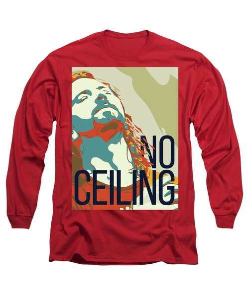 Eddie Vedder Long Sleeve T-Shirt by Greatom London