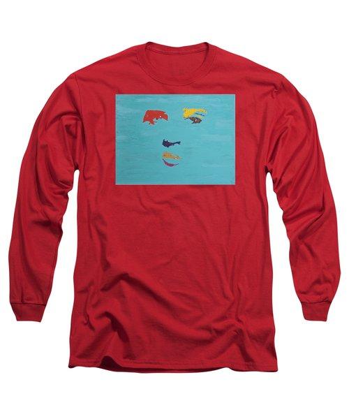 Elvis In The Sky Long Sleeve T-Shirt