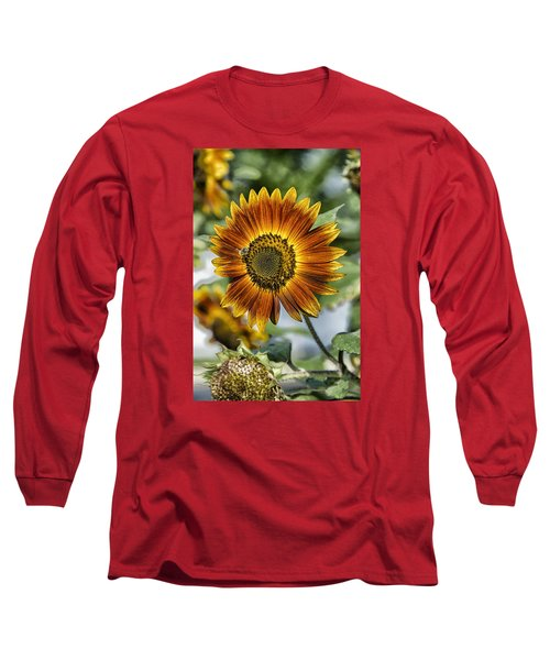 End Of Sunflower Season Long Sleeve T-Shirt