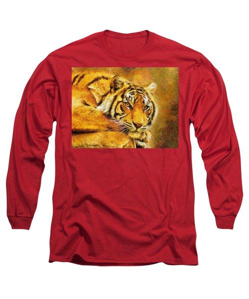 Eye Of The Tiger Long Sleeve T-Shirt