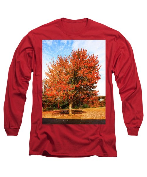 Long Sleeve T-Shirt featuring the photograph Fall Time by Randy Sylvia