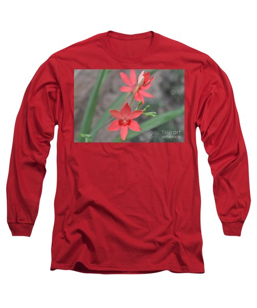 Floating Orchid Long Sleeve T-Shirt