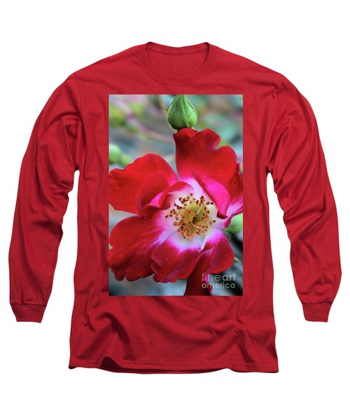 Flower Dance Long Sleeve T-Shirt by Victor K