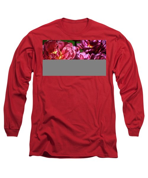 Flowers And Fractals Long Sleeve T-Shirt