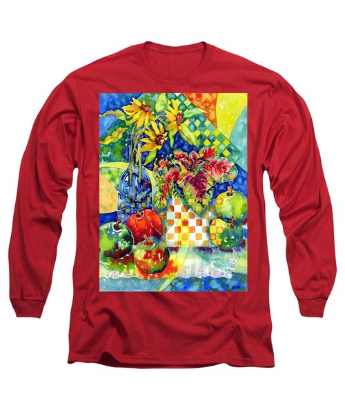 Fruit And Coleus Long Sleeve T-Shirt