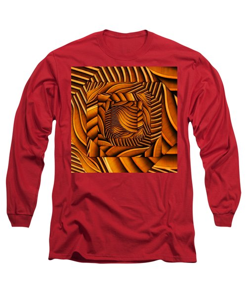 Long Sleeve T-Shirt featuring the digital art Groovy by Ron Bissett