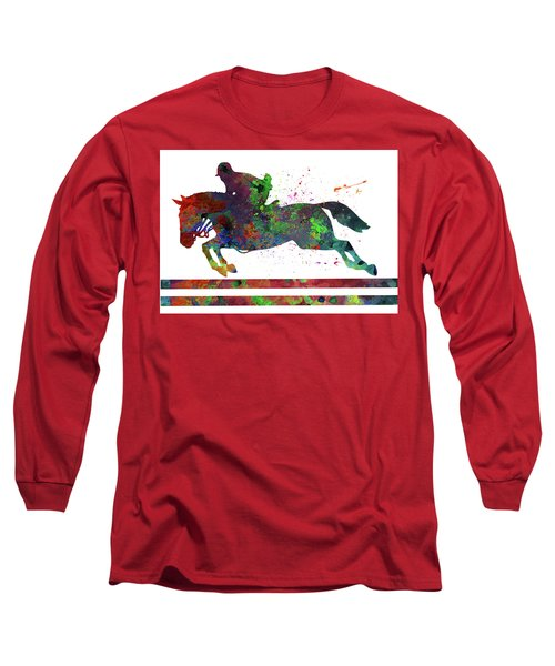 Horseback Riding Long Sleeve T-Shirt