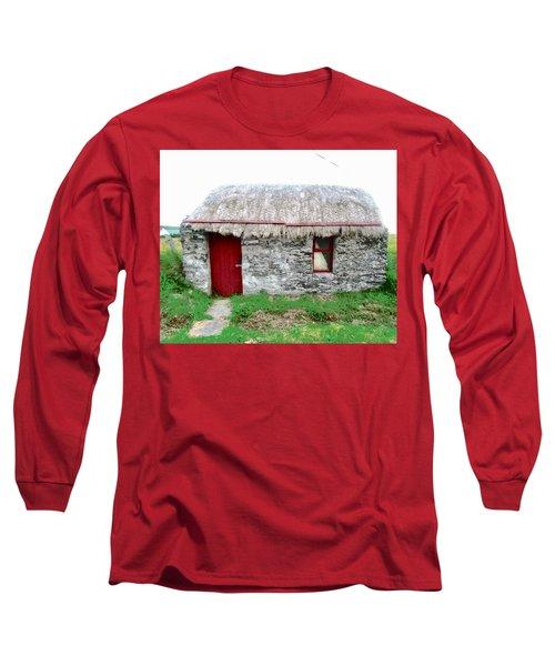 Irish Cottage Long Sleeve T-Shirt