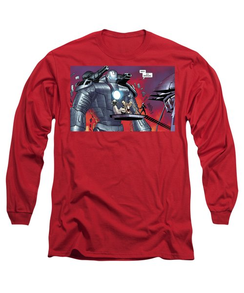 Iron Man Long Sleeve T-Shirt