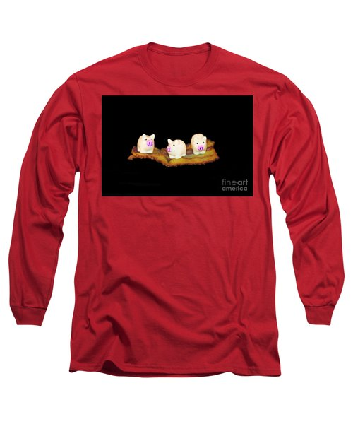 Ironic Pigs Long Sleeve T-Shirt