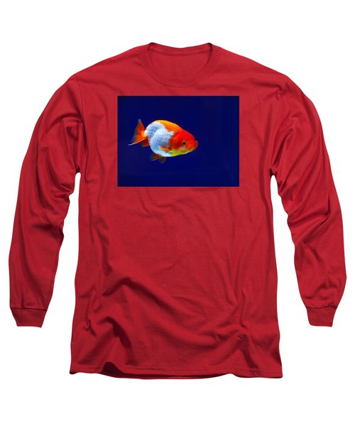 Lion Head Goldfish 4 Long Sleeve T-Shirt