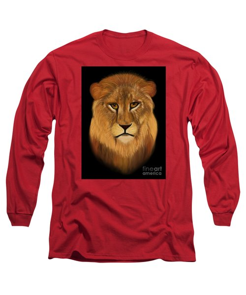 Lion - The King Of The Jungle Long Sleeve T-Shirt
