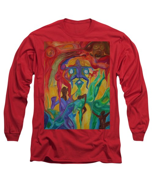 Mann I The Middle Long Sleeve T-Shirt