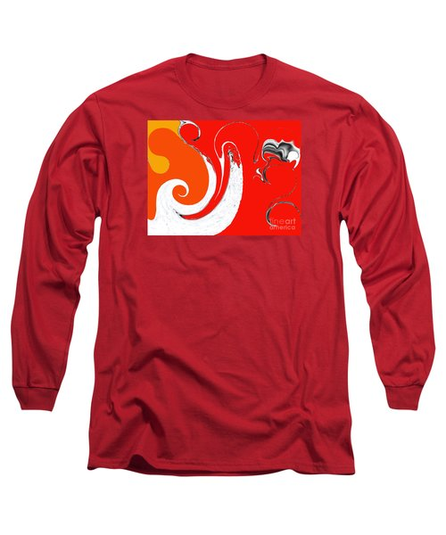 Liquid Wonders Long Sleeve T-Shirt by Fei A
