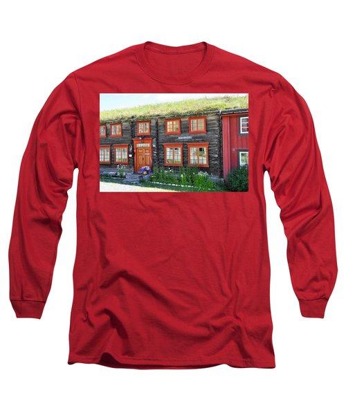 Old House Long Sleeve T-Shirt by Thomas M Pikolin