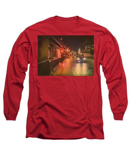 Old Kyoto, Gion Japan Long Sleeve T-Shirt