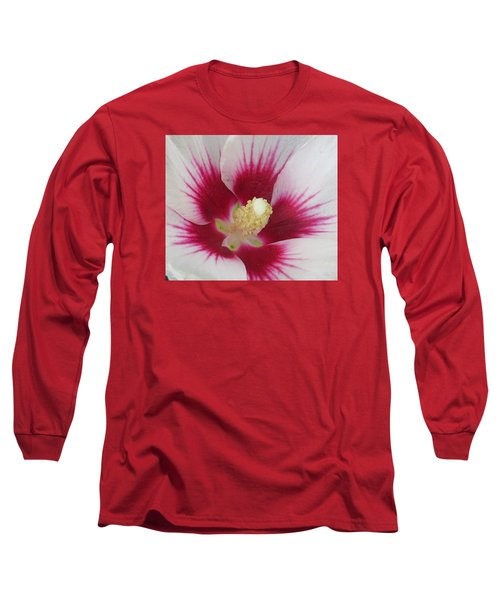 Open Wide Long Sleeve T-Shirt by Jeanette Oberholtzer