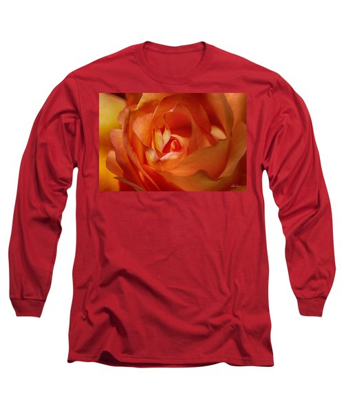 Orange Passion Long Sleeve T-Shirt