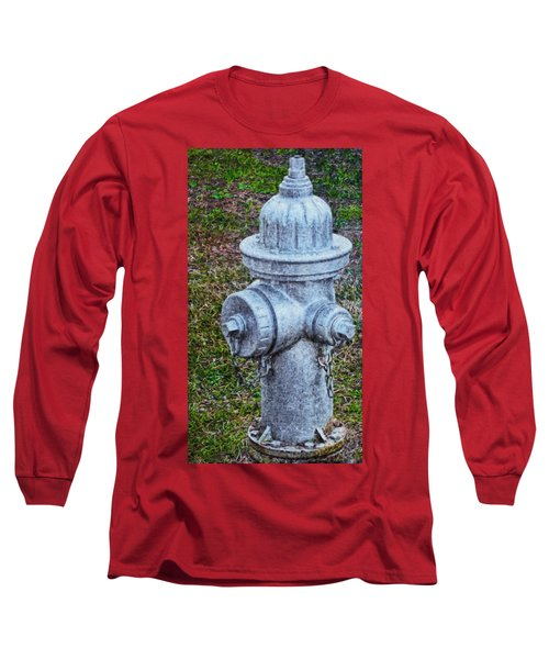 Painted Fireplug Long Sleeve T-Shirt