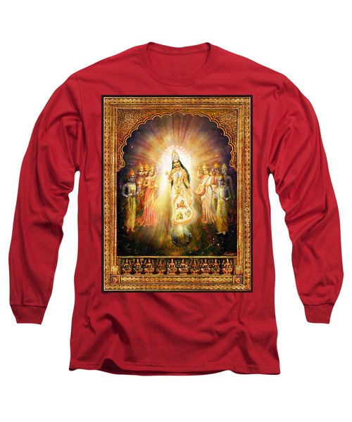 Parashakti Devi - The Great Goddess In Space Long Sleeve T-Shirt