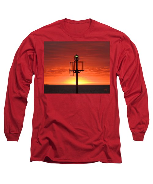 Long Sleeve T-Shirt featuring the photograph Port Hughes Lookout by Linda Hollis