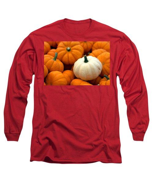 Pumpkins Long Sleeve T-Shirt by Joseph Skompski