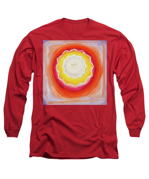 Purna Yantra Long Sleeve T-Shirt