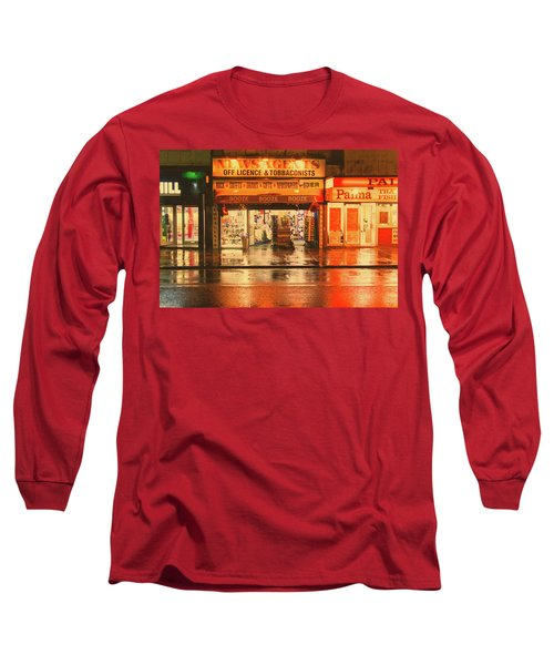 Rain Town Long Sleeve T-Shirt