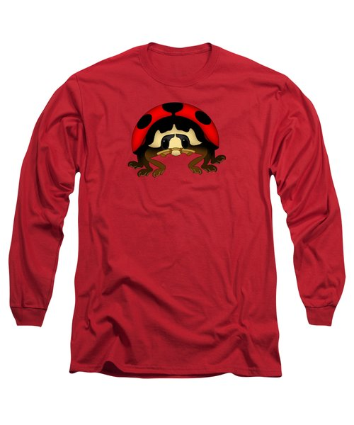 Red Bug Long Sleeve T-Shirt by Sarah Greenwell