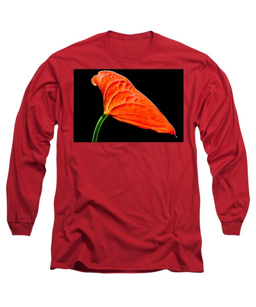 red Lily blossom Long Sleeve T-Shirt