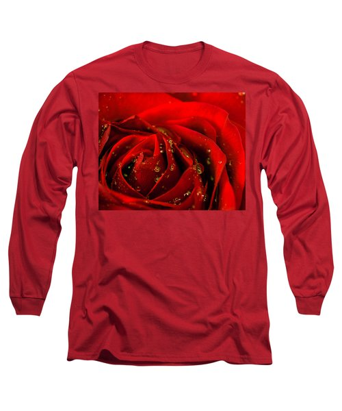 Red Rose 2 Long Sleeve T-Shirt