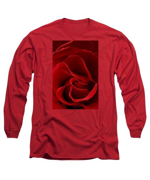 Red Rose Vi Long Sleeve T-Shirt